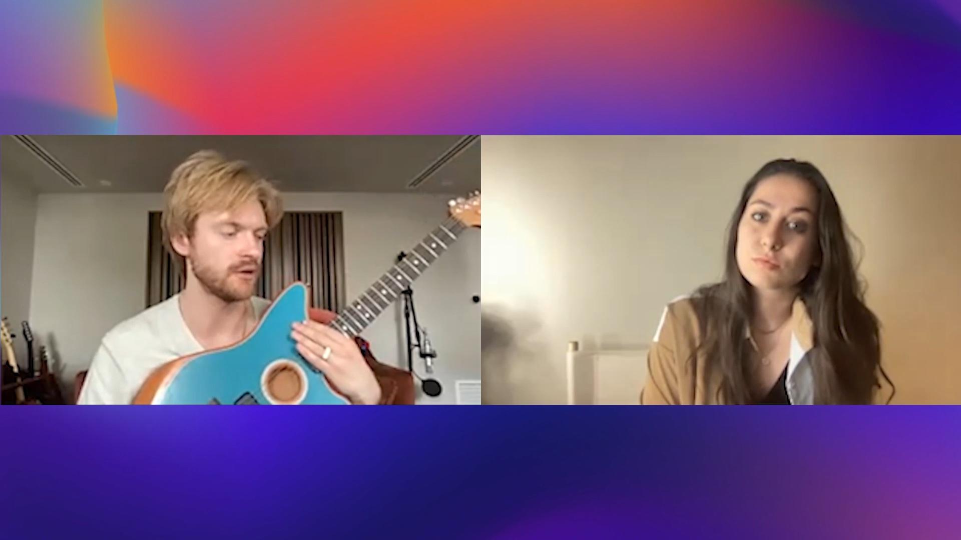 FINNEAS on His Fender Guitar Hotline and Billie Eilish's New Album