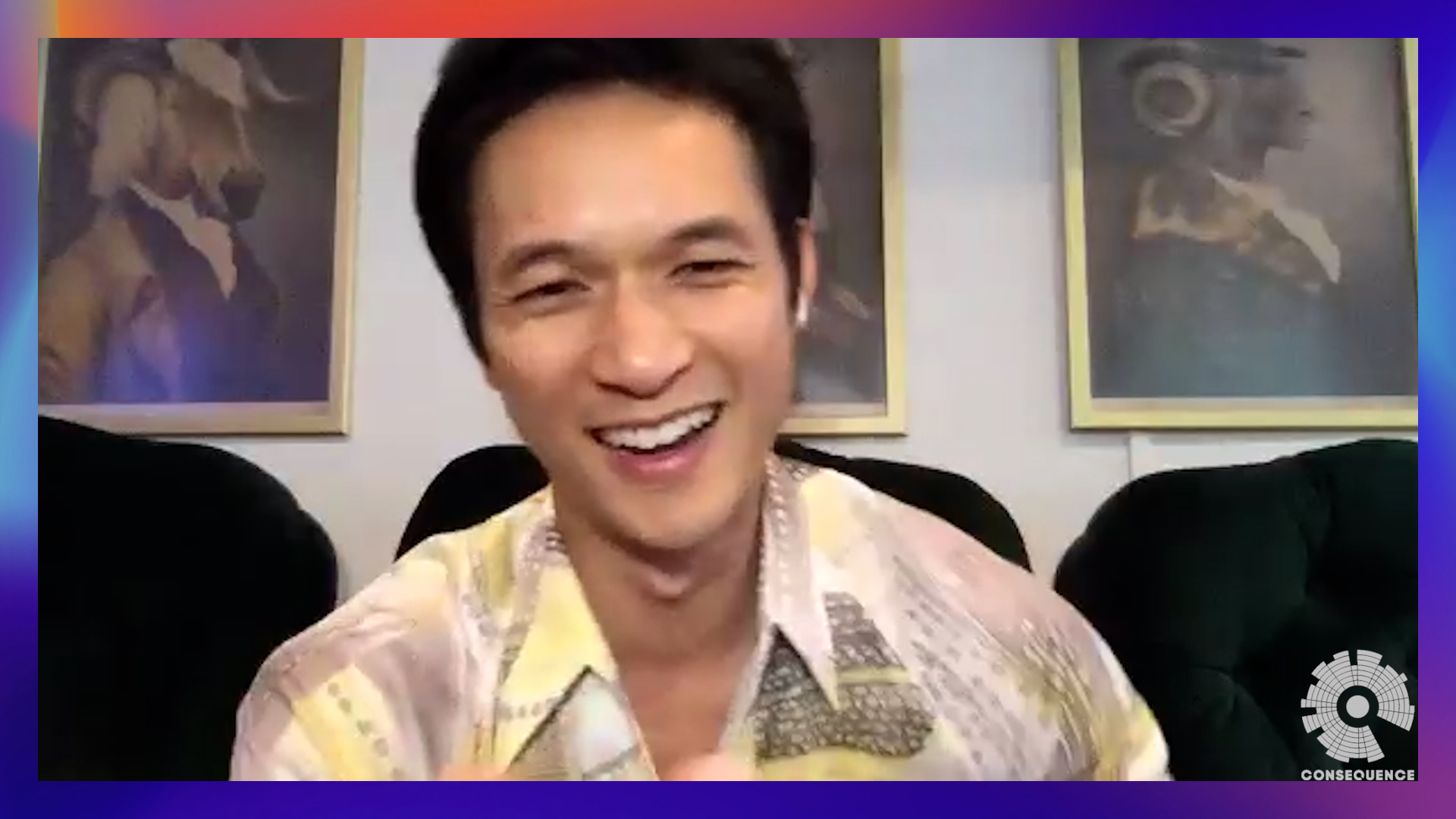 Harry Shum Jr. on His New Psychological Thriller Broadcast Signal Intrusion
