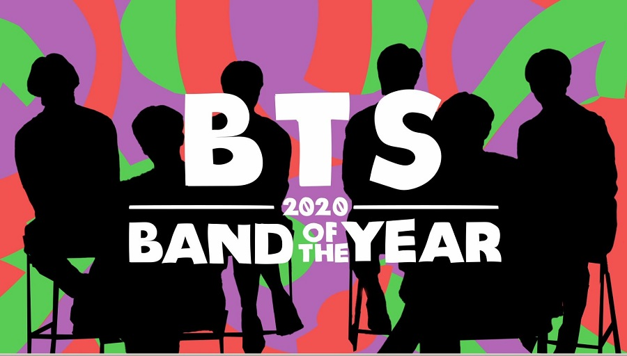BTS: 2020 Band of the Year