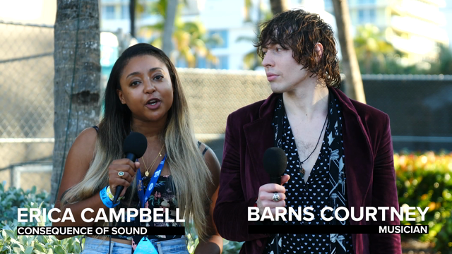 Barns Courtney on Being a Performer, Sad Songs, and his latest album 404