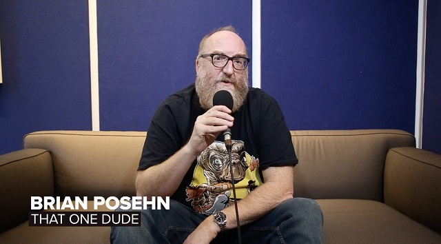 Comedian Brian Posehn Talks New Album Grandpa Metal + More