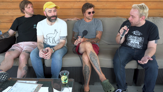Circa Survive on Emo Night, Nirvana and Billie Eilish