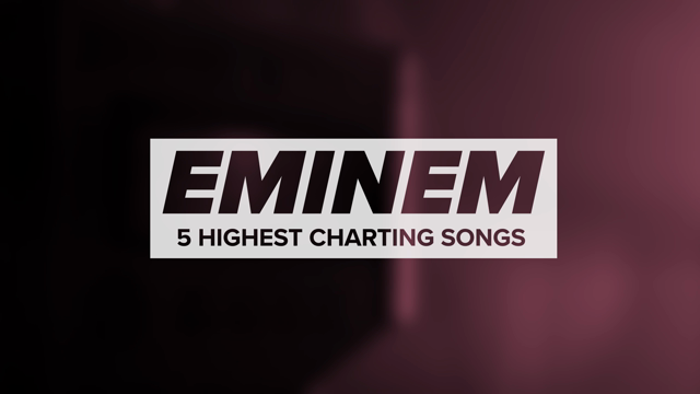 Eminem's Highest Charting Songs