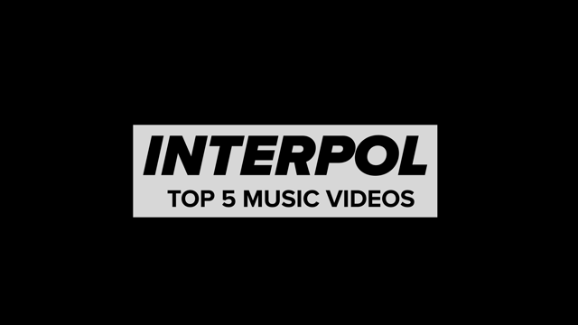 Interpol's Top 5 Music Videos