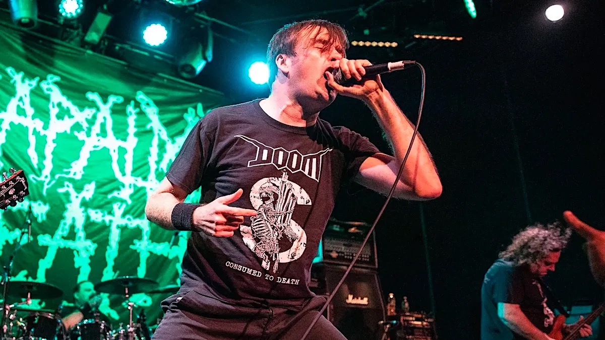 Napalm Death's Barney Greenway on New Album, Pandemic, and More