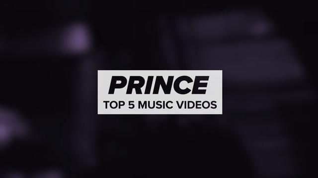Prince's Top 5 Videos