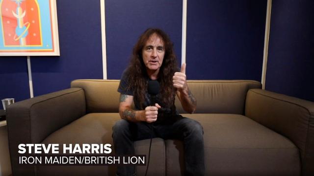Iron Maiden's Steve Harris Talks British Lion, The Burning Album + More