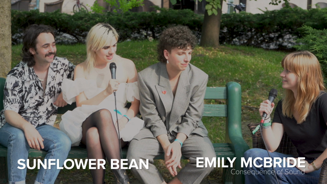 Sunflower Bean on Governors Ball, Come for Me and Tour Life