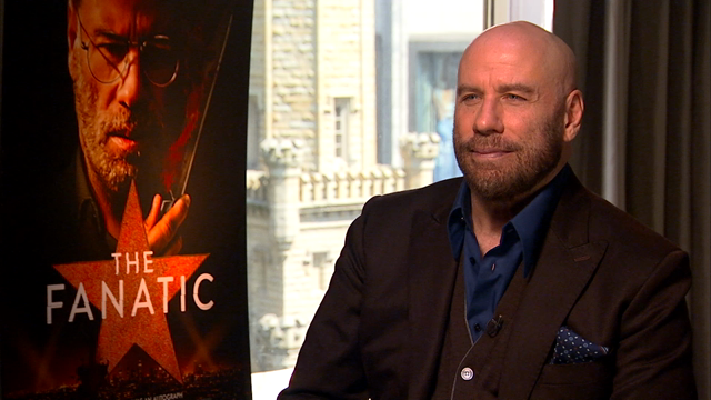 John Travolta on Fans, Favorite Characters, and Stephen King
