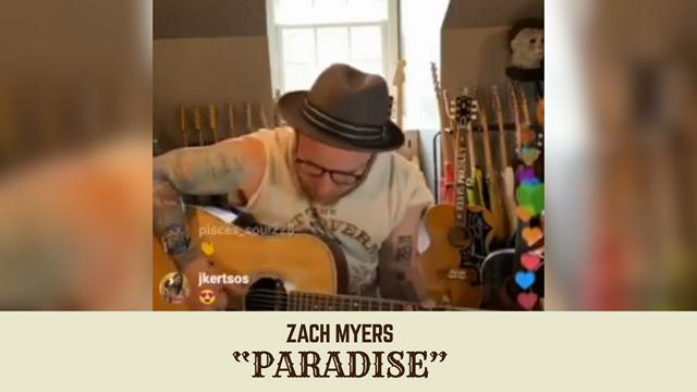 "Shinedown's Zach Myers Performs John Prine's  ""Paradise"""