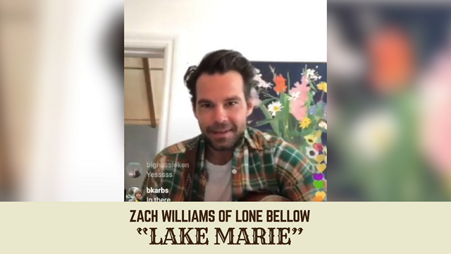"""The Lone Bellow's Zach Williams Performs John Prine's """"Lake Marie"""""""